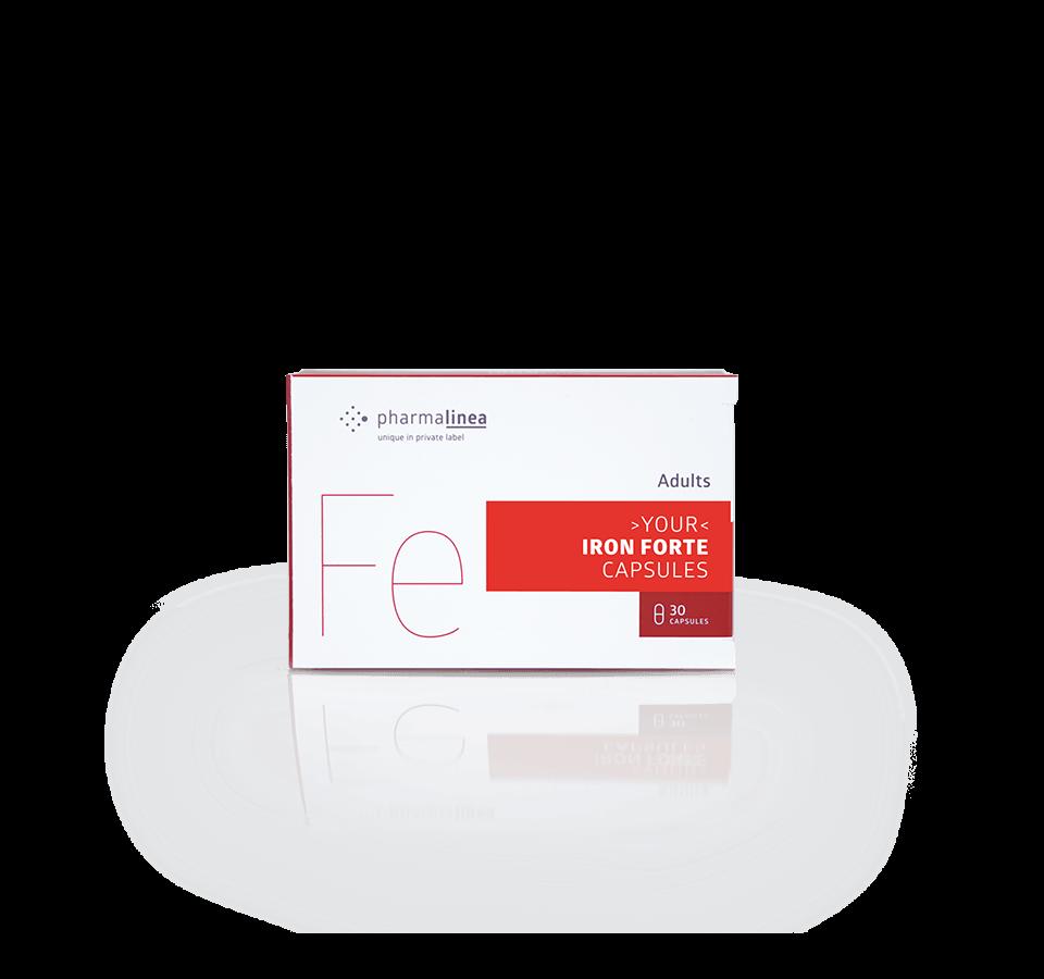 private label iron forte capsules